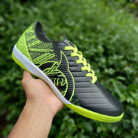 Sepatu Futsal Ortuseight Catalyst Chypher Black Green - Hitam Green, 39
