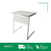 Meja Belajar / Training VINOTI Office SD2 warna Abu abu terang