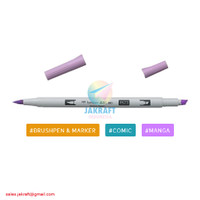TOMBOW ABT PRO P673 Orchid Brush Pen Alcohol-Based Marker