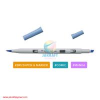 TOMBOW ABT PRO P553 Mist Purple Dual Brush Pen Alcohol-Based Marker