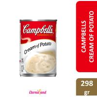 Campbell's Condensed Soup Cream of Potato - sup instan krim kentang