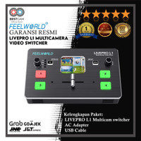 FeelWorld LIVEPRO L1 Multicamera Video Switcher with 4 x HDMI Inputs