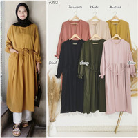 DR39( MANDY pocket accent daily long tunic ) . Bhn p