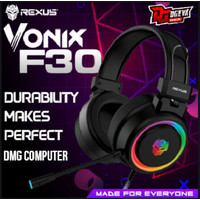 Rexus Vonix F30 Headset Gaming LED RGB