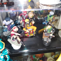 mini figure dalam display Naruto 6pcs