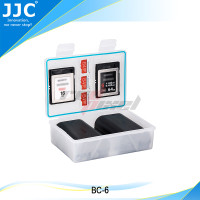 JJC BC-6 MULTI-FUNCTION BATTERY CASE