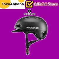 Helm Sepeda ROCKBROS City Pro WT-09 WT09 WT 09 Seli Sepeda Lipat Urban - Black