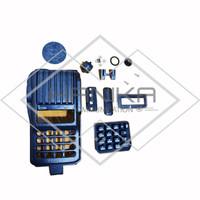 Set Lengkap Casing Icom IC-V80 Keypad Knob Tutup Mic PTT dll HT ICV80