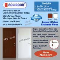 Pintu Aluminium Starmas Solidoor Model 9 (70 x 195 cm)