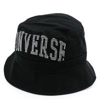 Converse Large Logo Bucket hat hitam original