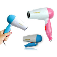 Nova Hair Dryer Pengering Rambut Mini Lipat NV-1290