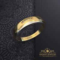 Cincin Kawin Perak Free Kotak cincin dan Ukir nama