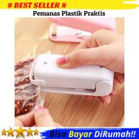 Sealer Plastik Mini/Mini Hand Heat Sealer/Pemanas Plastik/Perekat Mini