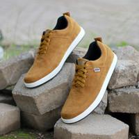 Fashion Sepatu Pria Kuzatura KZS 304 Coklat