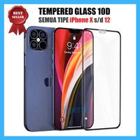 Screen Guard iPhone 11 12 Mini Pro Max Tempered Glass Protector 9D 10D