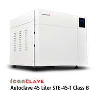 Autoclave IcanClave Steam Sterilizer STE 45 T Class B With Printer