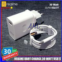 Charger Realme 30 Watt 5V-6A ORIGINAL 100% DART Charge USB C