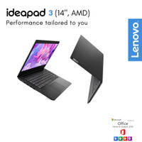 LAPTOP LENOVO IDEAPAD SLIM 3 - AMD RYZEN 3-4300U 8GB 512GB 14 FHD W10