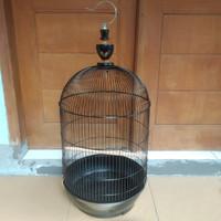 Sangkar Kandang Besi Jumbo Burung Lovebird Nuri Falk Merk Dayang