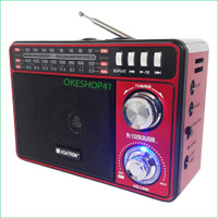 Radio asatron R-1050 USB AM FM, SD Card, Emergency Lamp