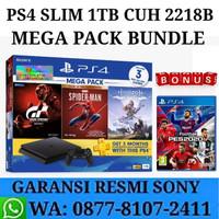 PS4 Slim Garansi Resmi Sony Bundle Game