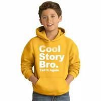 Baju anak COOL STORY BRO Sweater anak unisex sweater anak pria hoodie