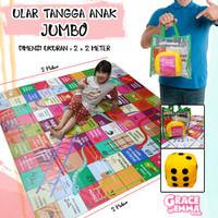 ULAR TANGGA JUMBO/ MAINAN EDUKASI/ UK 2M X 2M FULLCOLOUR