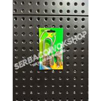 Xp Tool Gembok Putih 40 mm Leher Panjang Chrome Gembok Pelor Termurah