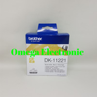 Brother Label Tape DK-11221 Square Paper Labels 23mm x 23mm DK 11221
