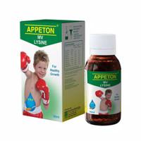 60Ml APPETON With Lysine Syrup/ Vitamin Anak