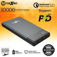Powerbank 20000mah Naxen Vigo Ultra LED Display QC 3.0 + PD 10W FREE