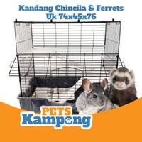 Kandang Tingkat Sanko untuk chinchilla Ferret Musang