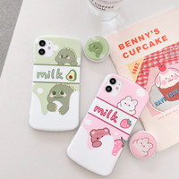 Huawei P7 P8 P9 P10 P20 P30 Lite Pro Plus Milk Pop Case