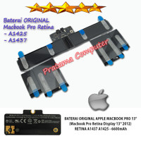 Baterai Battery Apple Macbook Pro Retina Display 2013 A1437 A1425 ORI