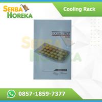 Cooling Rack Hitam 40*25/Peralatan Masak Loyang 40*25 & Cetakan Kue