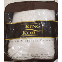 King Koil - Mattress Protector Dacron Fitted uk 200 x 200