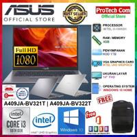 PROMO LAPTOP ASUS A409JA - CORE i3-1005G1 4GB 1TB 14 FULL HD W10