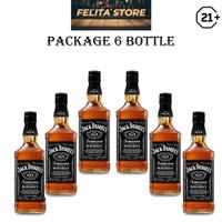 Jack Daniels 6 bottle