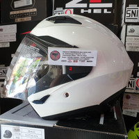 ZEUS Helm ZS 611 SOLID WHITE ZS611 - 611