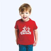 Kaos t-shirt anak natal christmas