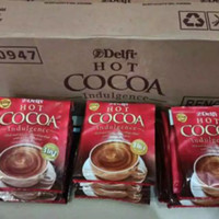 DELFI HOT COCOA MIX 3 IN 1 / MINUMAN COKLAT/ kayak Cadbury 1