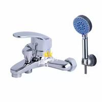 Kran / Keran Air Shower Set Bathtub Mixer Panas Dingin