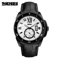 SKMEI Jam Tangan Analog Pria - 1135CL - Black White