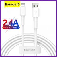 Baseus Mini White Lightning Kabel Data iPhone Fast Charging Apple