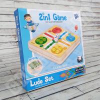 Papan Ludo & Ular Tangga Magnet - 2in1 Game F329