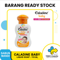 Caladine Baby Liquid Soap with Anti Irritant - 110 ML