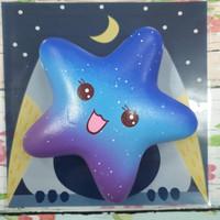 Squishy Murah Rainbow and Galaxy Starfish by Squishy Factory