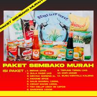 Paket Lengkap Sembako Murah | Parcel Sembako | Paket Sembako Paket 10