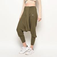 Celana olahraga, Fitflo Activewear, Tencel, Esme Harem Pants Olive