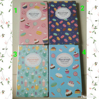 Weekly or Monthly Planner Colorful Macaroon Notes - Mint